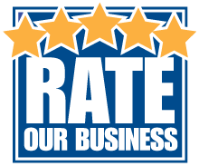 Button to Rate Our Business satisfaction survey form