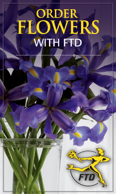 order flowers from FTD