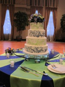 Cake was gorgeous - from Ken and Peggy at Sweet Perfections - Waukesha!