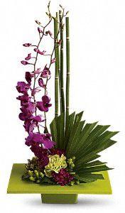 Zen artistry floral arrangement